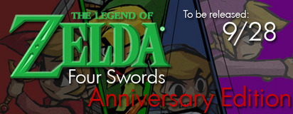 Four Swords Anniversary Edition – Are You Excited? UPDATE: Now Plus New Specifics!
