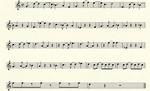 Zelda 2 Battle Ocarina Music Sheet