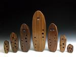 Wooden Inline Ocarinas