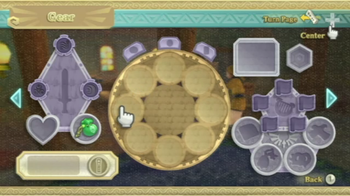 Skyward Sword's Gear screen contains all your Key Items