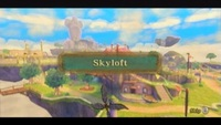Welcome to Skyloft - the village in the clouds!