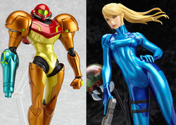These Sweet Metroid: Other M Figures Are Now Available for Pre-Order