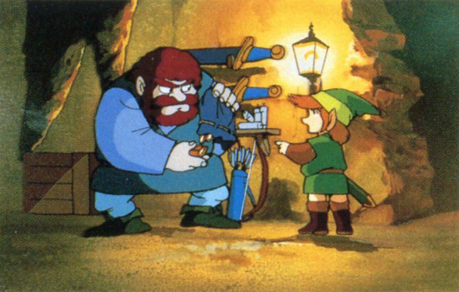 Katsuya Terada Inspired Silent Legend Of Zelda Comic Neogaf