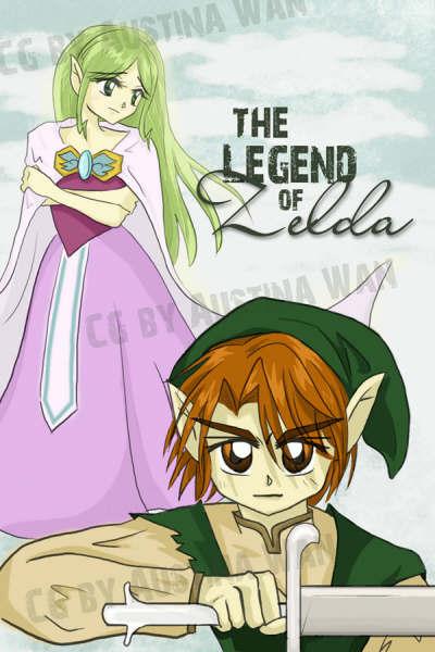**F.C de Zelda** Anime01