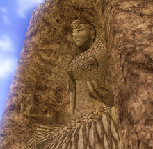 Goddess of Sand, deity of the Gerudo