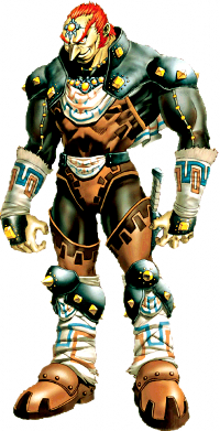 Ganondorf, the only Gerudo male