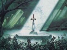 The Legendary Master Sword