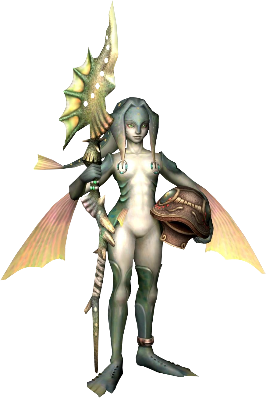 Zora from Twilight Princess