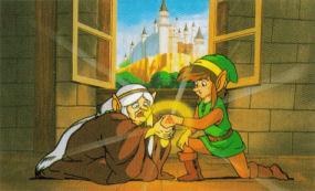 Adventure of Link Scene Art