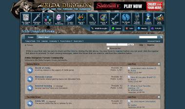 Zelda Dungeon Forum