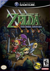 Four Swords Adventures Box Artwork