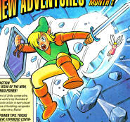 Nintendo Power Link Artwork