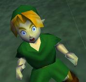 Ocarina of Time Link Screenshot