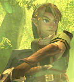 Link Swinging His Sword