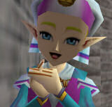 Child Zelda from Ocarina of Time