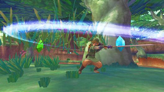 Skyward Sword Spin Attack
