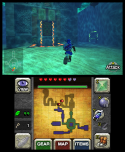 Ocarina of Time 3DS Water Temple