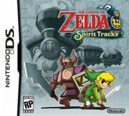 Spirit Tracks Box Artwork