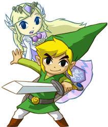 Spirit Tracks Zelda Artwork