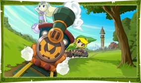 Spirit Tracks Scene Artwork
