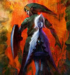 Zelda Wii Poster