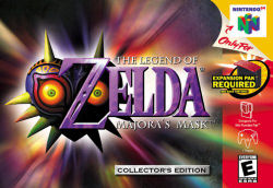 Majora's Mask Box Artwork