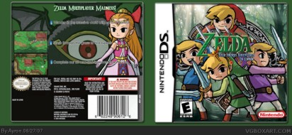 Four Swords Nintendo DS Boxart