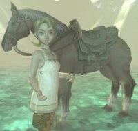 Illia with Epona