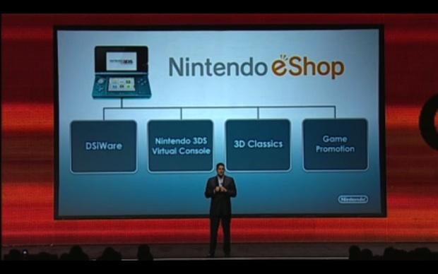 Nintendo 3DS eShop at GDC