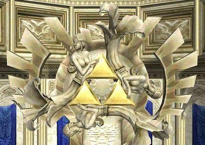 Golden Goddesses Statue Twilight Princess
