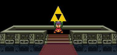 A Link to the Past Triforce