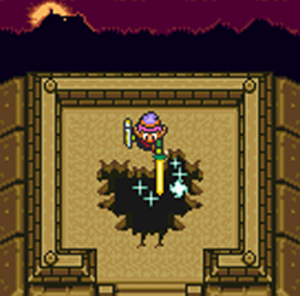 A Link to the Past Sword Beam