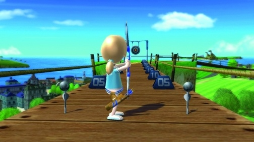 Archery Wii Sports Resort