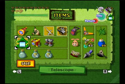 The Wind Waker Inventory