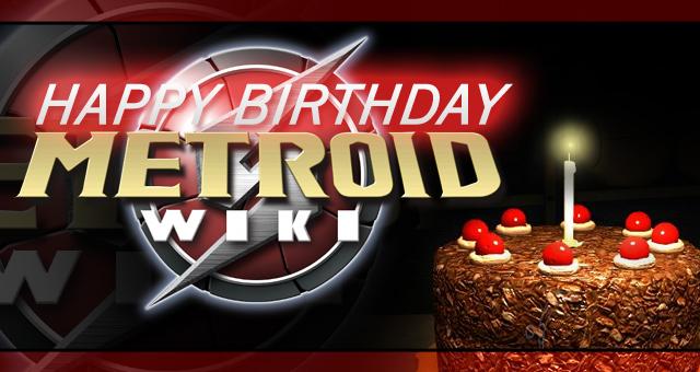 Happy First Birthday Metroid Wiki