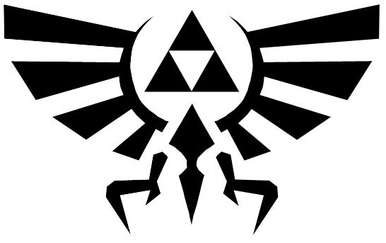 "Hylian Shield Symbol"" Stickers by hopperograss   Redbubble"
