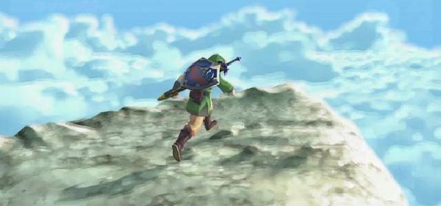 Link Skyloft Banner