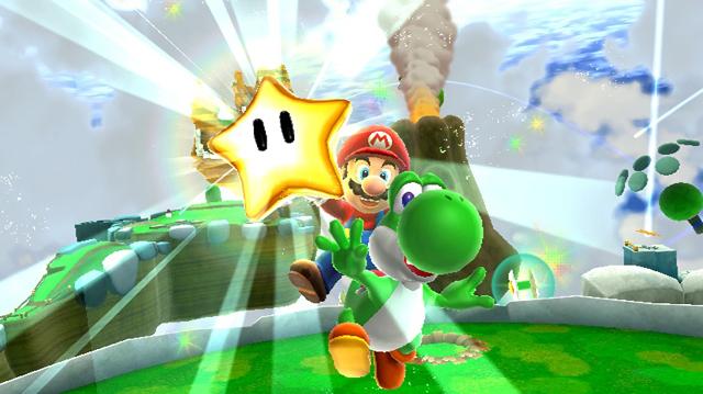 Mario and Yoshi Star