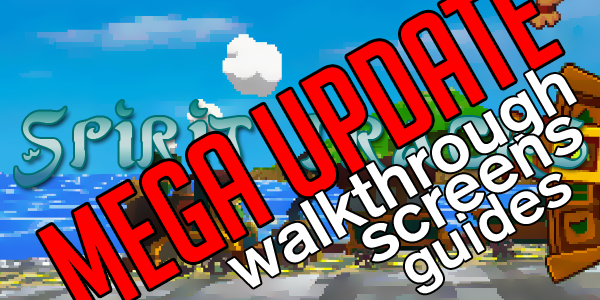 Spirit Tracks MEGA UPDATE