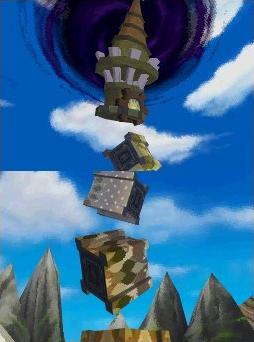 The broken Tower of Spirits