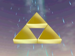 Hyrule's most sacred relic: The Triforce