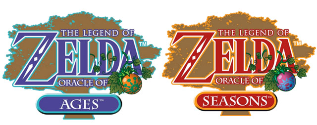 Oracle of Ages and Seasons Logos