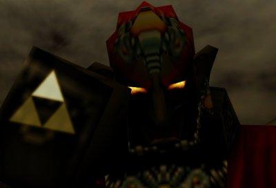 Ganondorf Triforce of Power