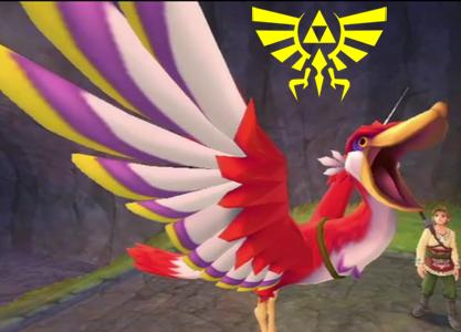Hyrule Crest Bird