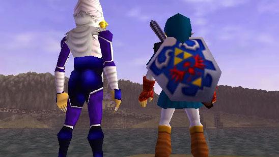 Sheik and Link