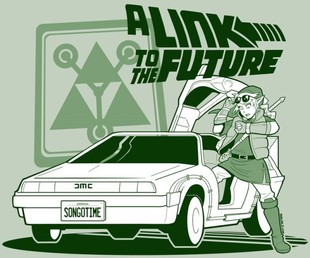 Link Goes Back to the Future