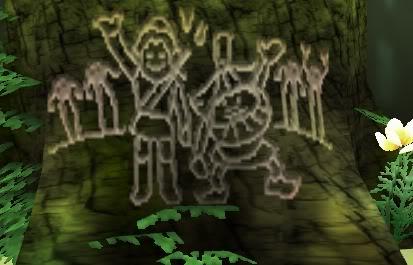 Treestump Drawing Majora's Mask