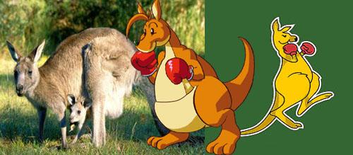 Kangaroos ad Zelda