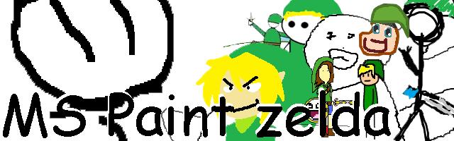 MS Paint Zelda Banner