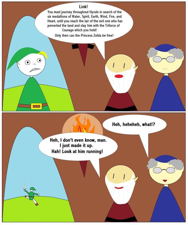 TheLightArrow Zelda Comic